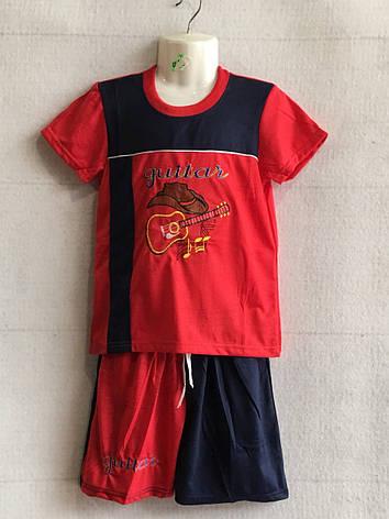 Комплект для мальчика футболка+шорты 4-9 лет, фото 2