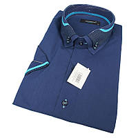 Турецкая мужская рубашка Negredo 0330 Н Slim С размер ХХL, фото 1