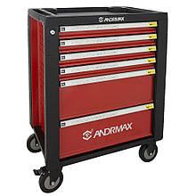 Тележка для инструмента, 6 полок ANDRMAX