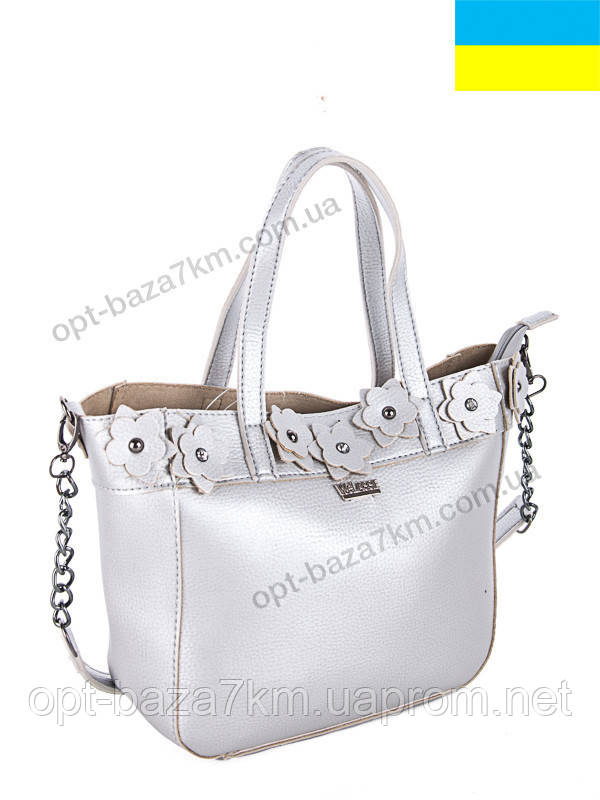 86dc2e4baf1d Сумка женская WeLassie 55511 silver (26x25) - купить оптом на 7км в одессе