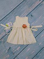 Красивое детское платье, р. 74
