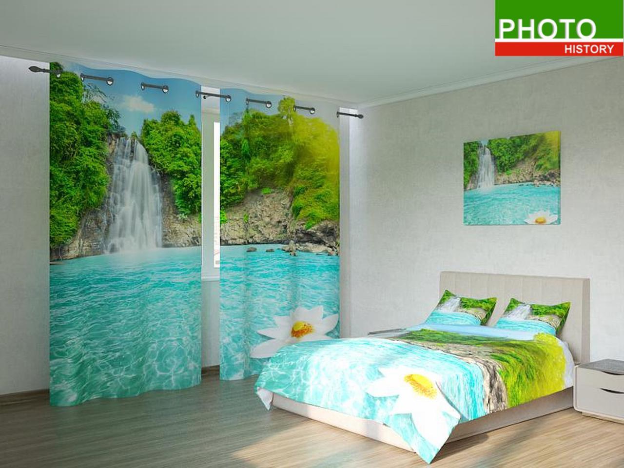 Фотокомплекты водопад и цветок