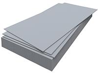 Плоский шифер, р-р 3000х1200мм, толщ 10мм, лист