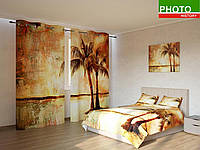 Фотокомплекты абстракция пальмы