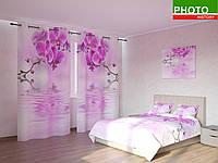 Фотокомплекты розовая орхидея над водой