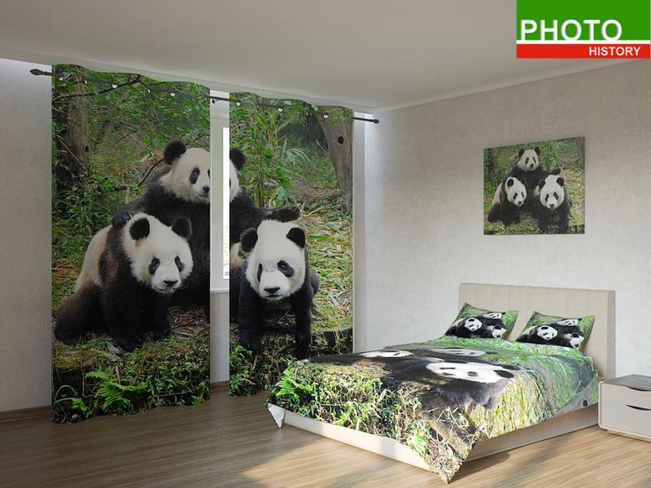 Фотокомплекты панды