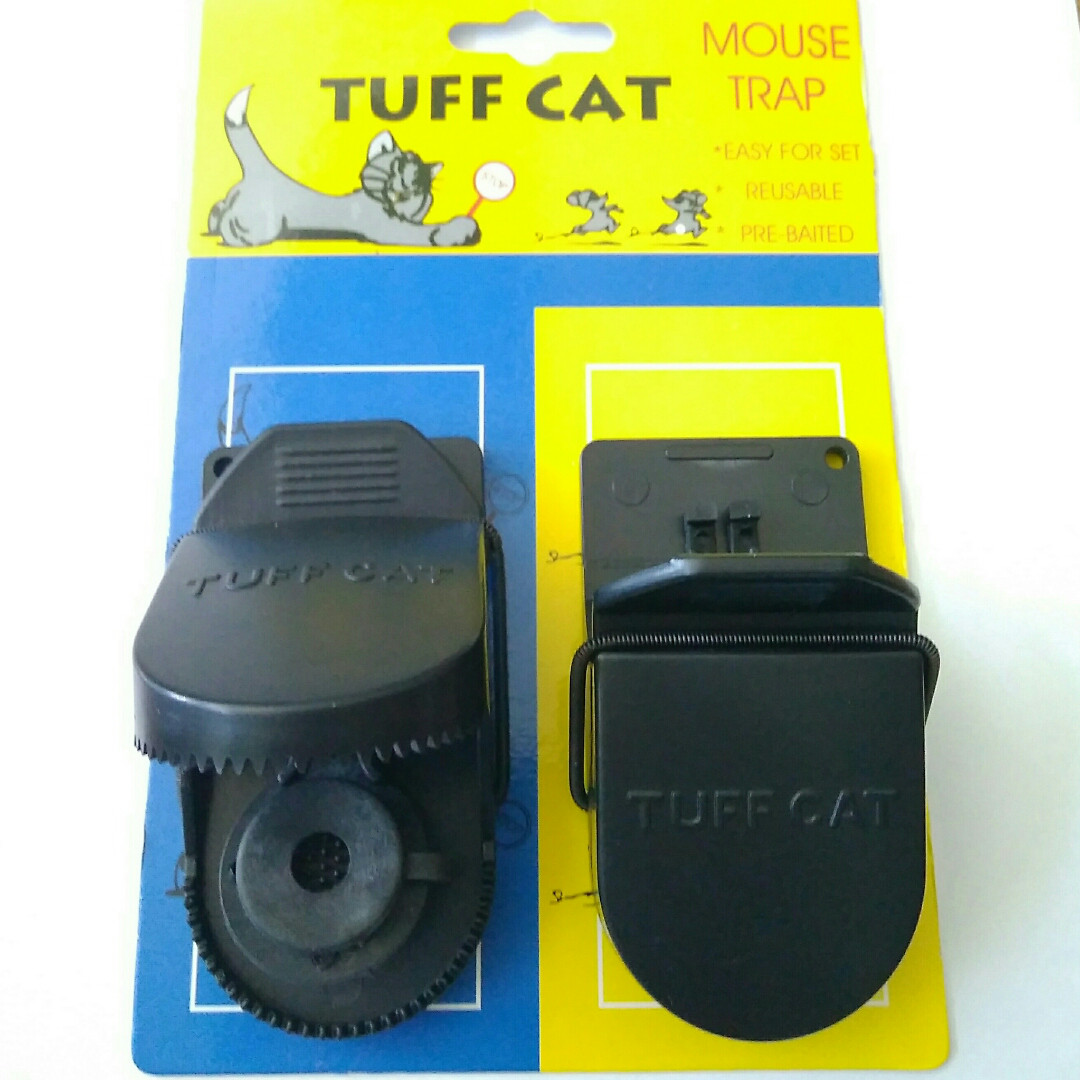 Мышеловки Tuff cat, комплект 2 шт
