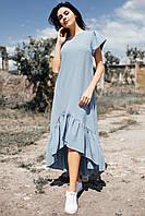 Платье Willow цвета джинс