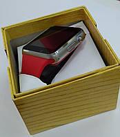 Розумний годинник телефон Smart Watch A1 c SIM картою, червоний