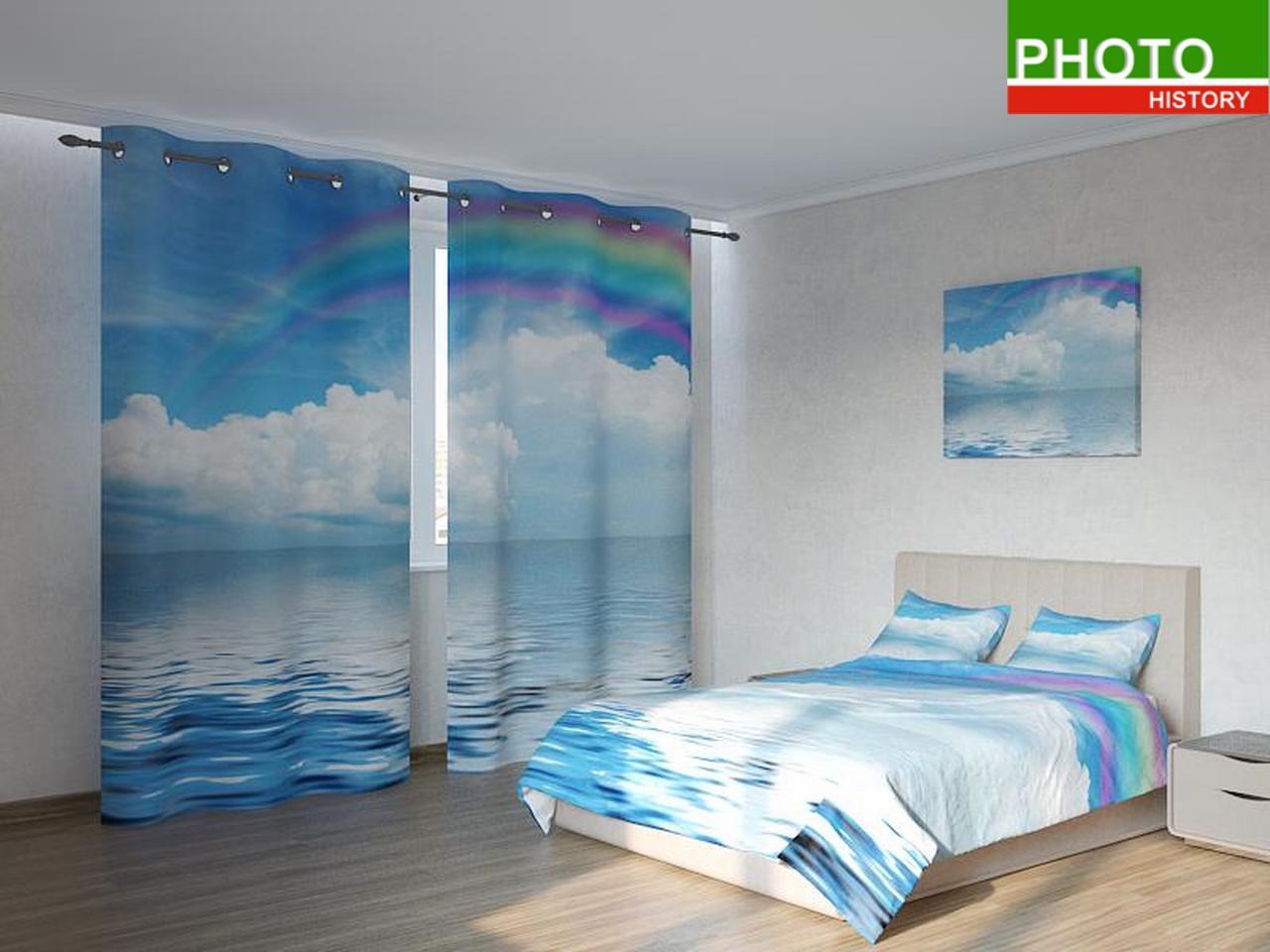 Фотокомплекты радуга над облаками