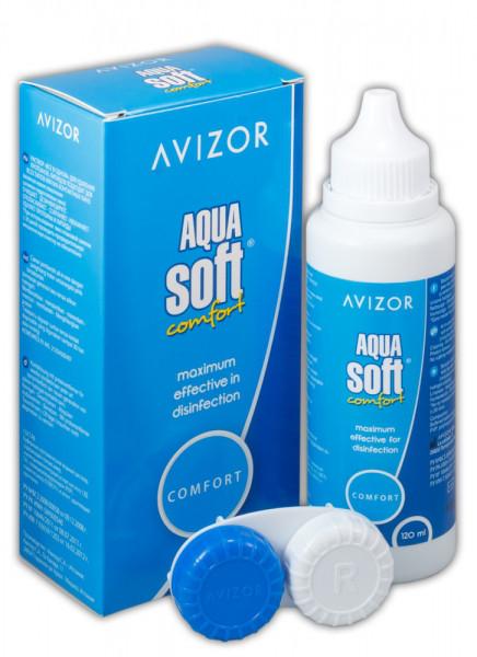 Многофункциональный раствор AVIZOR Aqua Soft Comfort 60 мл.