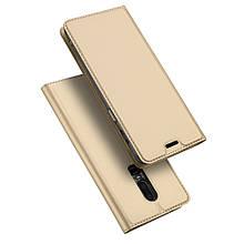 Чехол книжка Dux Ducis Skin Pro для OnePlus 6 золотистый