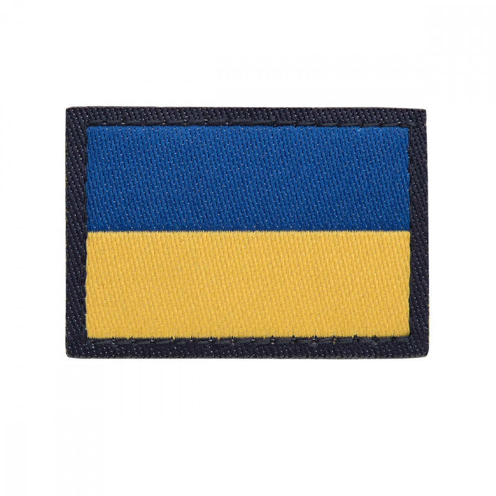 Нарукавный знак Державний Прапор України Військово-морських сил ЗСУ (жаккард)