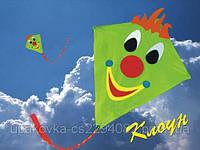 """Воздушный змей Клоун фирма """"Воздушный мир"""""""