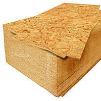 Плита строительная OSB-3 (влагостойкое) 12 мм (1,25х2,50)