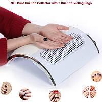 Пылеуловитель большой, Настольный пылесос для маникюра, вытяжка для маникюра на три вентилятора, 40Вт