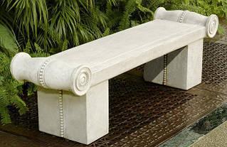 Скамейки из мрамора