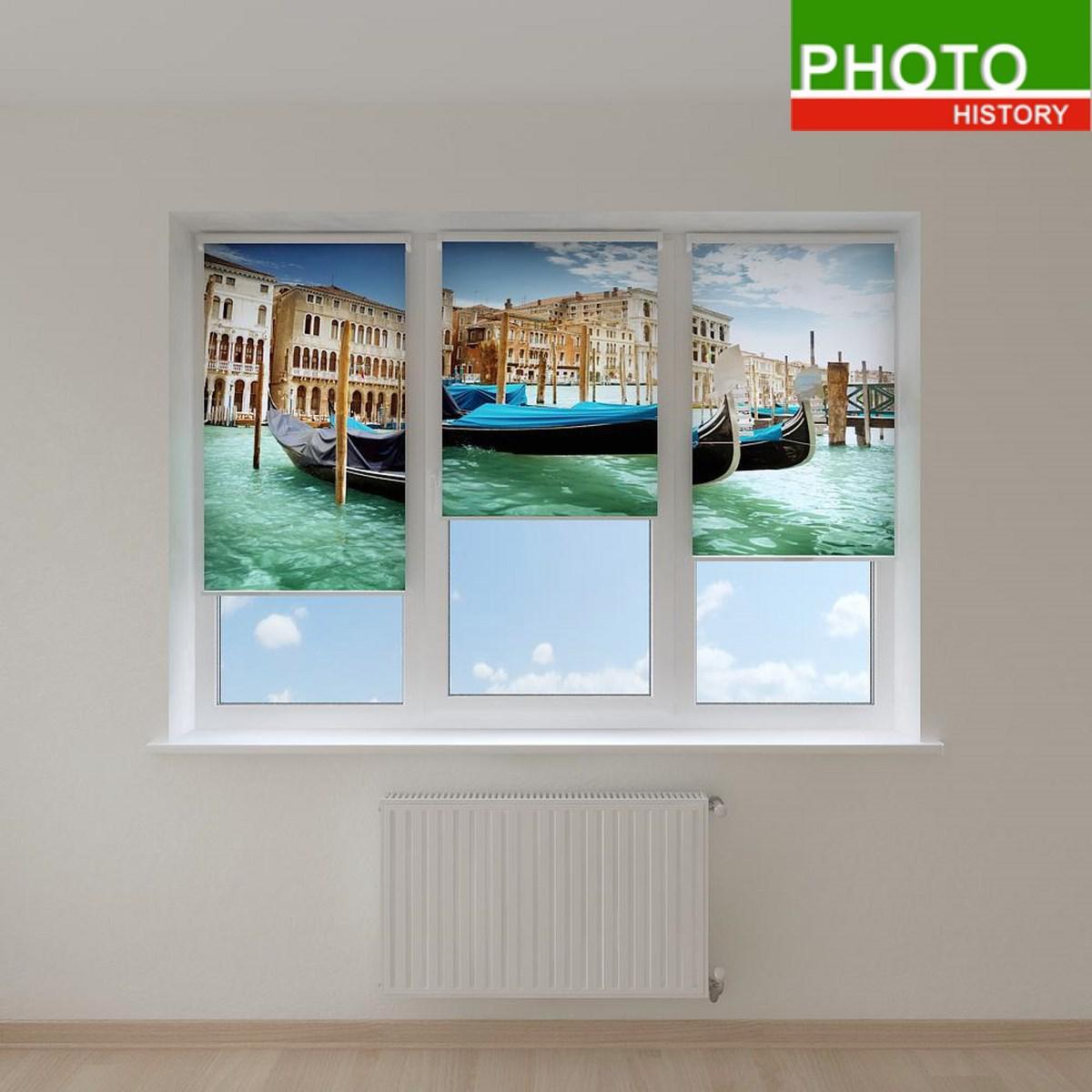 Рулонные шторы города Венеция
