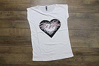 Женская футболка. ( Полномерные). S размер