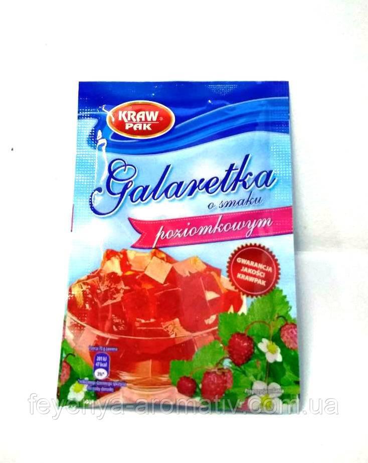 Желе Kraw Pak Galaretka, 70гр (Польша) суниця