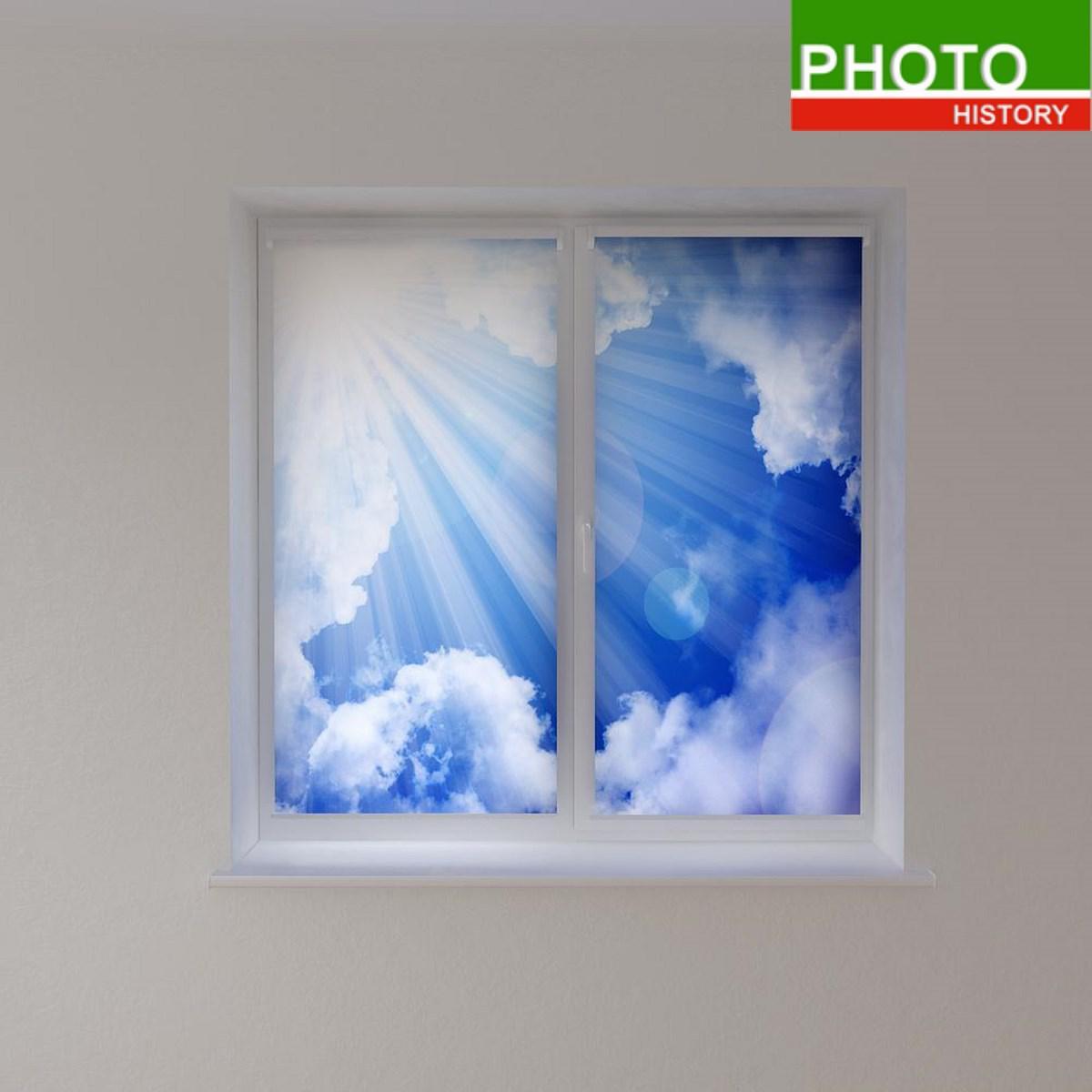 Рулонные шторы облака