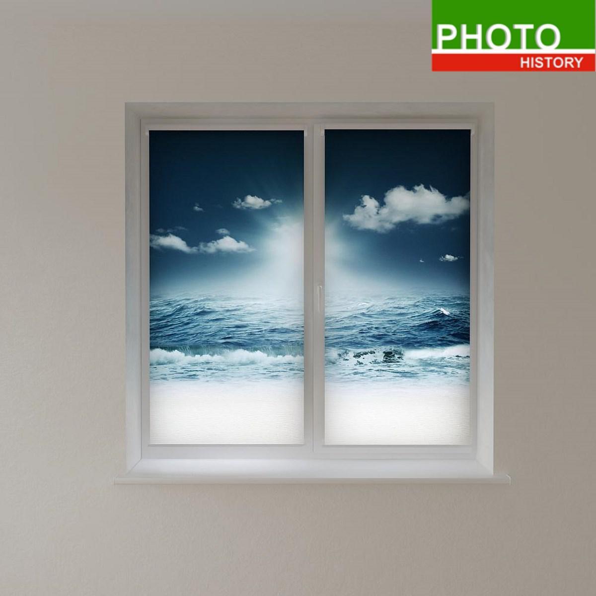 Рулонні штори морський пейзаж