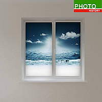 Рулонные шторы морской пейзаж