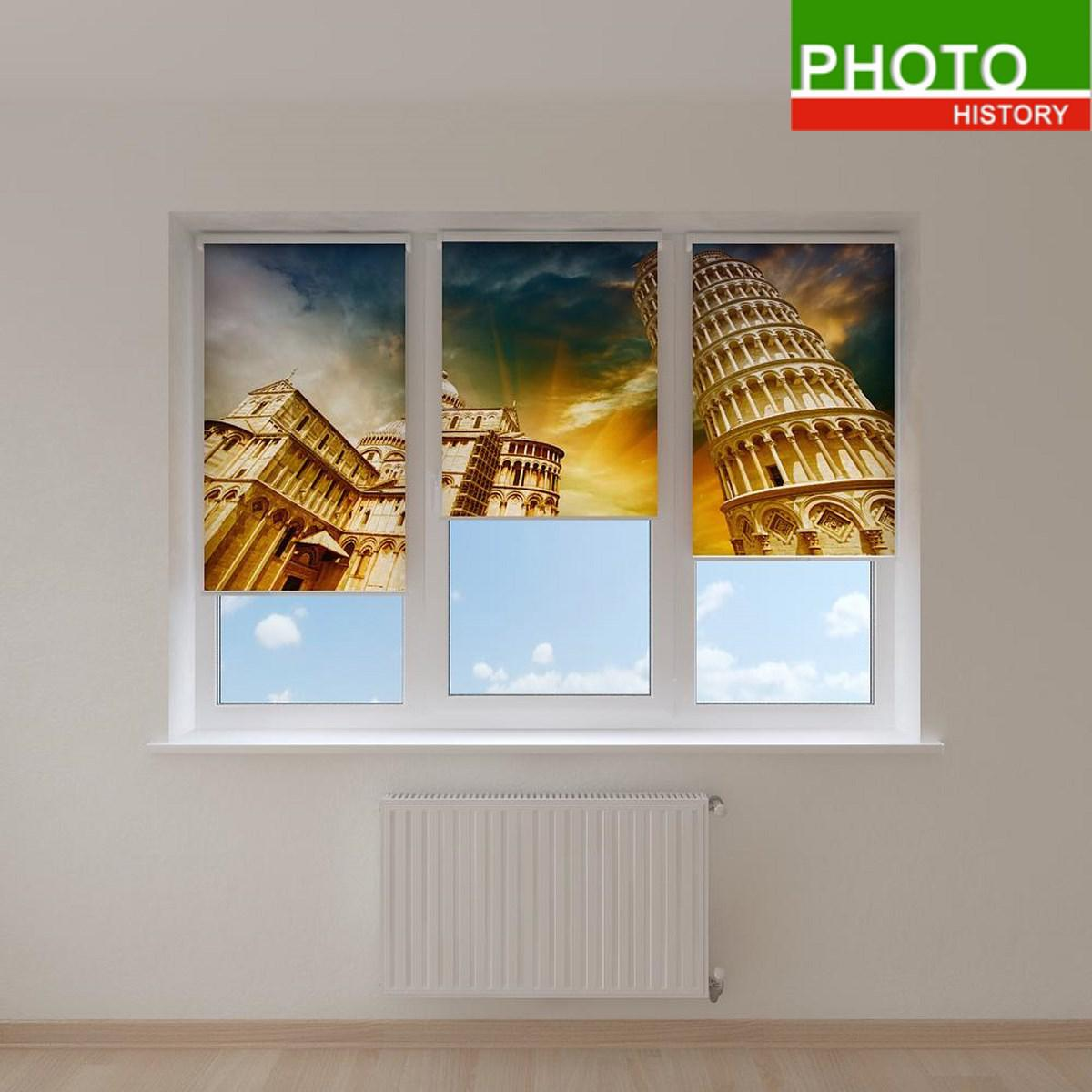 Рулонные шторы достопримечательности Италии