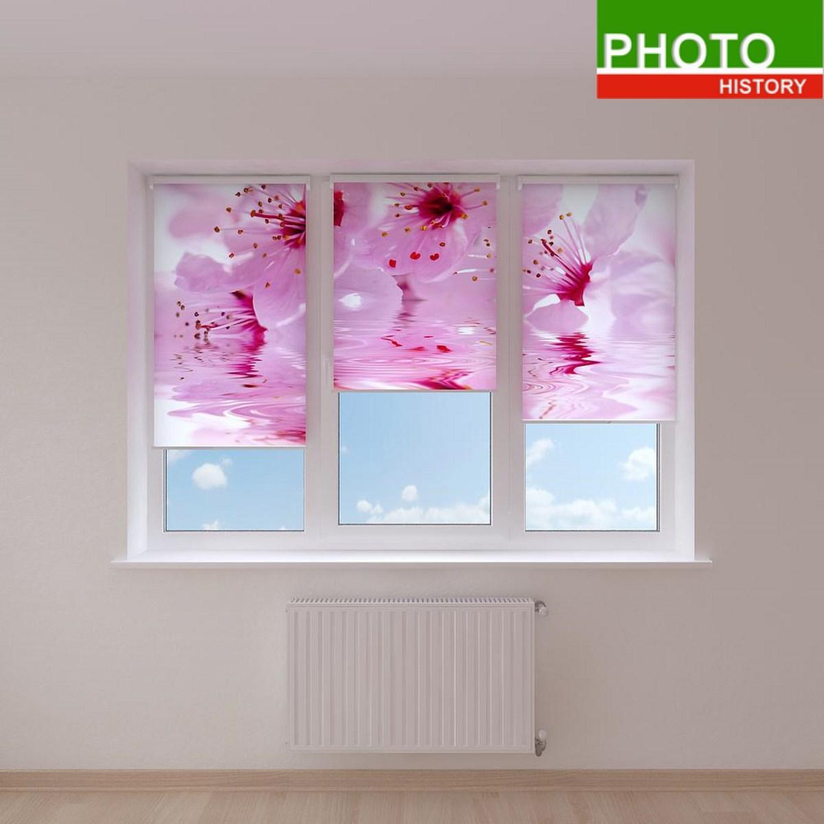 Рулонні штори квітуча вишня