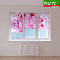 Рулонные шторы цветущая вишня