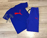Мужские шорты и футболка пума, спортивный костюм Puma