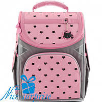 Каркасный рюкзак для девочки Gopack GO18-5001S-5 (1-4 класс)
