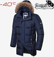 Мужские куртки зима Braggart Dress Code - 3227#3226 синий, фото 1