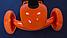 Самокат-беговел 890 \3 в1 Детский трехколесный Mini Micro Оранжевый, фото 4