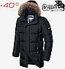 Мужская куртка Braggart Dress Code - 3227#3226 черный