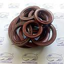 2.2 55 х 80 манжета резиновая армированная (красная), фото 3