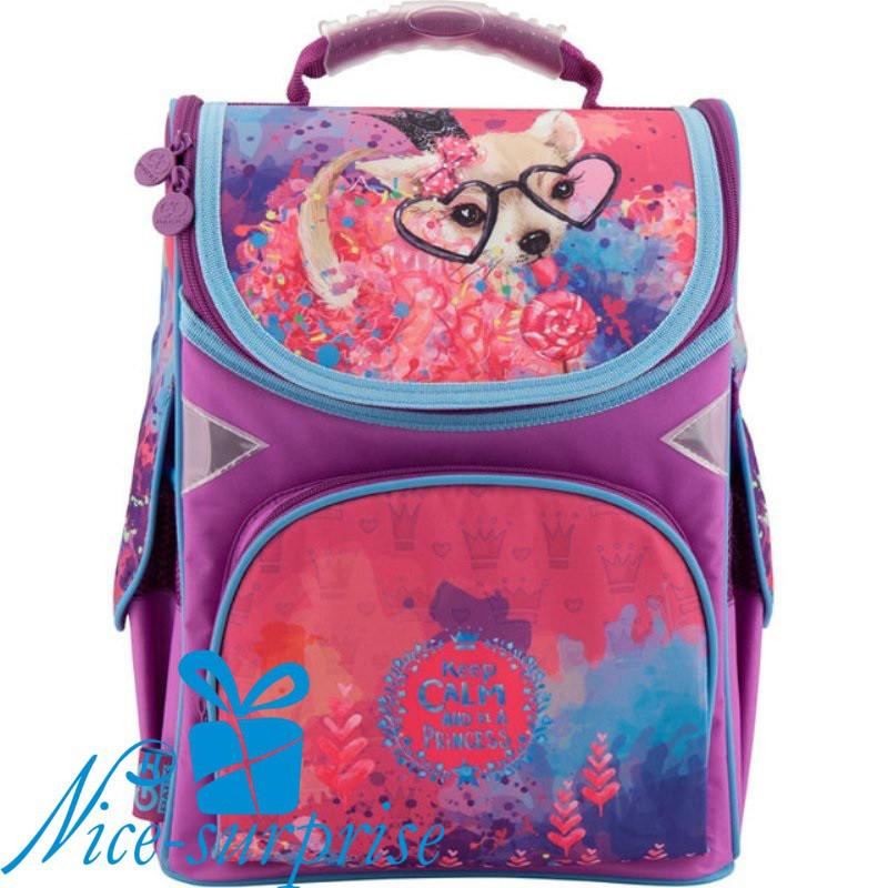 0f91a9a2d89d Рюкзак для девочки начальной школы Gopack GO18-5001S-6 - купить ...
