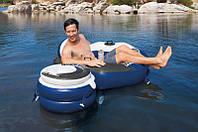 Надувной плавающий бар River Run Connect Cooler Intex 56823