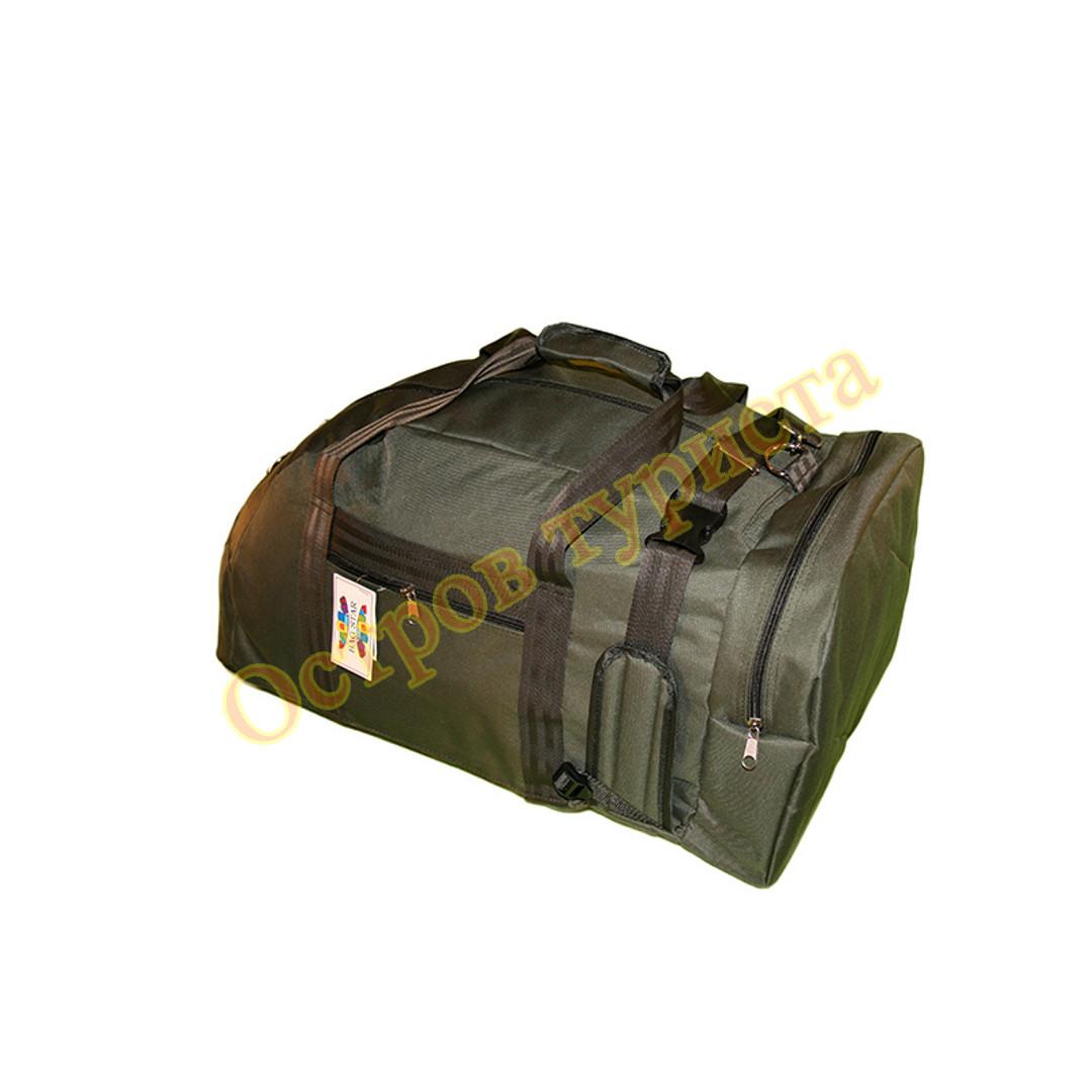 Сумка рюкзак 1233 военная 70 литров хаки