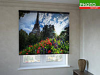 Рулонные шторы с фотопечатью Эйфелева башня