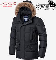 Куртка зима Braggart Dress Code - 3861#3860 графит, фото 1