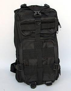 Туристический брендовый рюкзак - Tourist AK 47 - черный