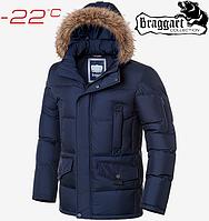 Мужские куртки Braggart Dress Code - 3861#3860 синий, фото 1