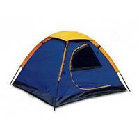 Туристическая однослойная одноместная палатка