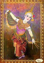 """Схема для вышивки бисером """"Цветок Таиланда"""""""