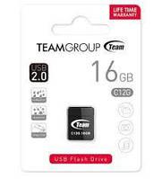 Флеш накопитель Team Nano 16GB Black (TC12G16GB01)