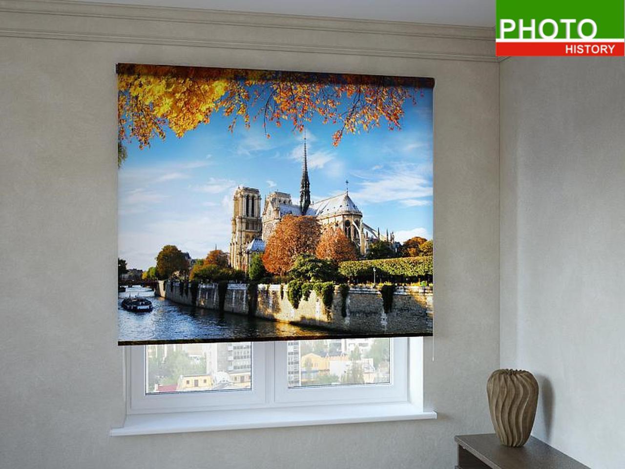 Рулонные шторы с фотопечатью дворец у реки