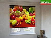 Рулонные шторы с фотопечатью натюрморт
