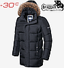 Мужская куртка Braggart Dress Code - 4127#4126 графит