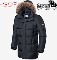 Мужская куртка Braggart Dress Code - 4127#4126 графит, фото 1